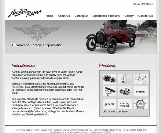 Austin Reproduction Site