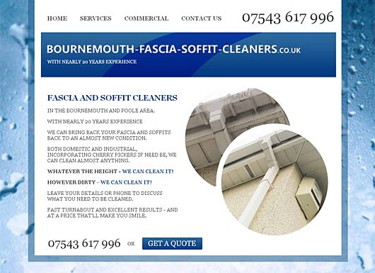 Bournemouth fascia soffit cleaners