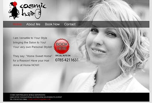 Christchurch and Bournemouth Mobile Hairdresser