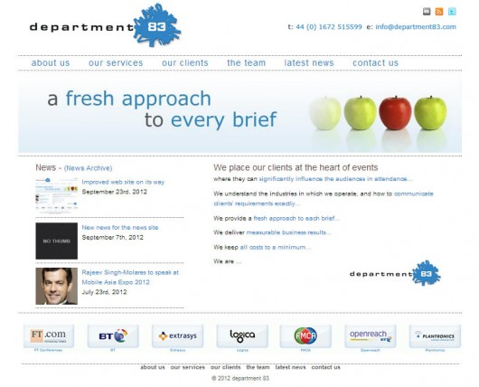 Rebuild Department 83 in WordPress